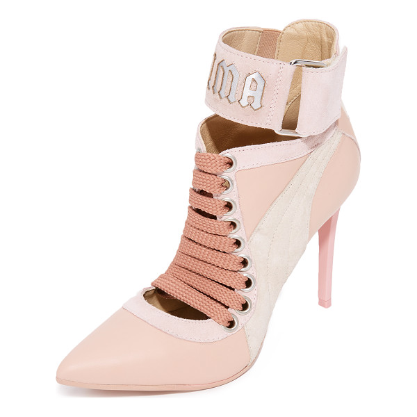 PUMA fenty x  lace up heels - From Rihanna's FENTY x PUMA collection, these pointed-toe...