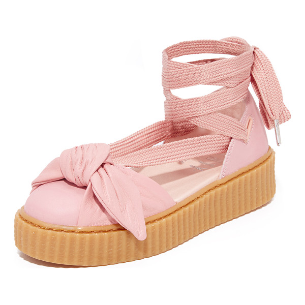 PUMA fenty x  bow creeper sandals - From Rihanna's FENTY x PUMA collection, a ridged, rubber...