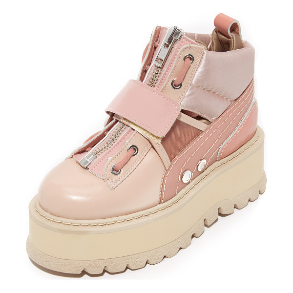 PUMA fenty x  strap sneaker booties - From Rihanna's FENTY x PUMA collection, these...
