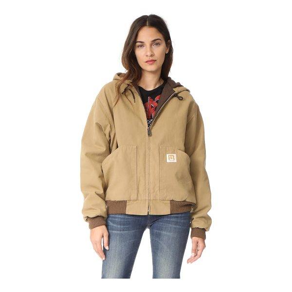 R13 duck jacket - This utilitarian R13 jacket is composed of sturdy canvas...