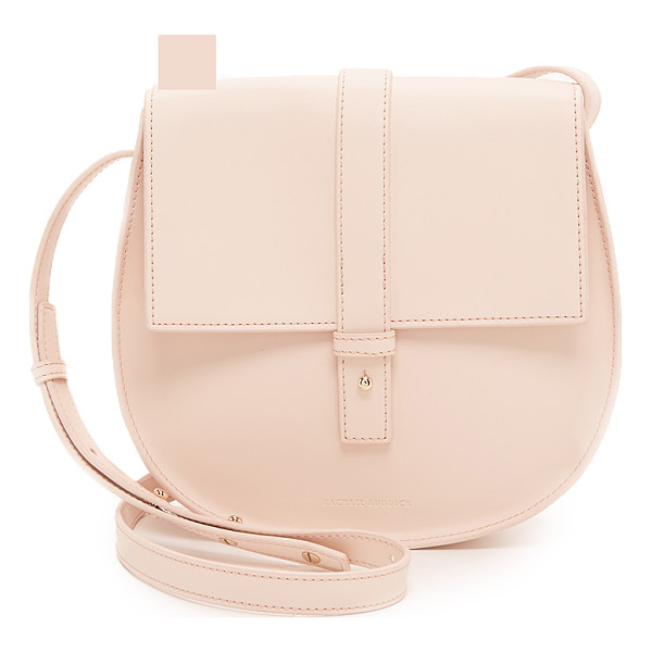 RACHAEL RUDDICK Saddle bag - A minimalist Rachael Ruddick saddle bag with a structured...