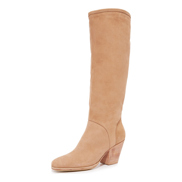 RACHEL COMEY Rachel Comey Carrier Boots - Luxe suede Rachel Comey boots styled with a relaxed shaft....