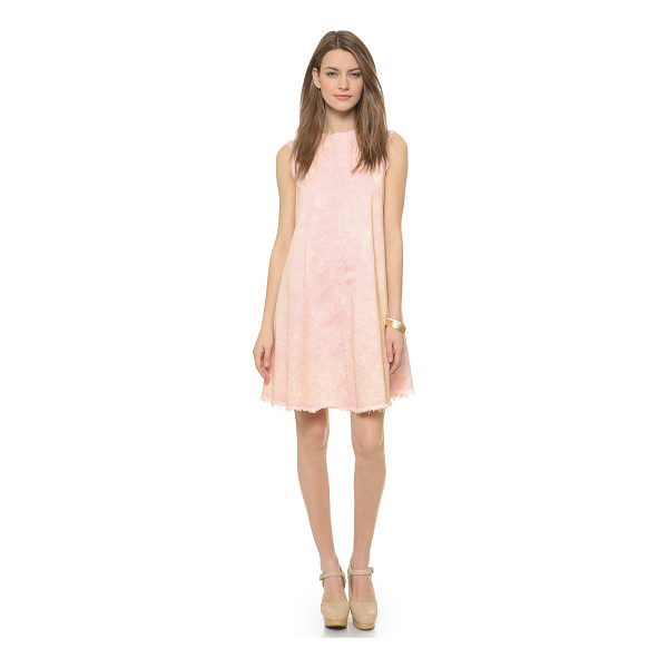 RACHEL COMEY Chronicle dress - Acid washed denim and frayed edges give this Rachel Comey...