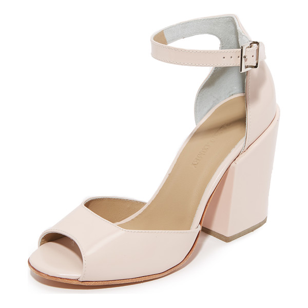 RACHEL COMEY coppa sandals - Peep toe Rachel Comey sandals styled in smooth leather....