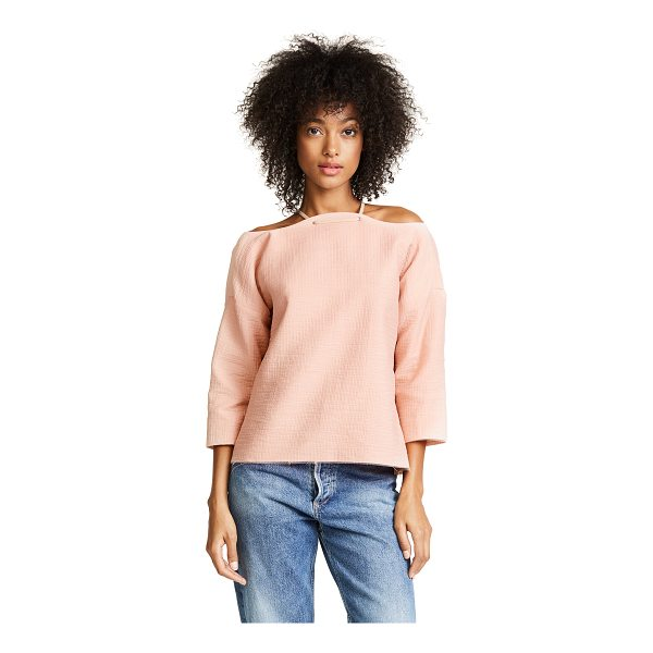 RACHEL COMEY folsom top - This textured Rachel Comey top is fashioned with a...