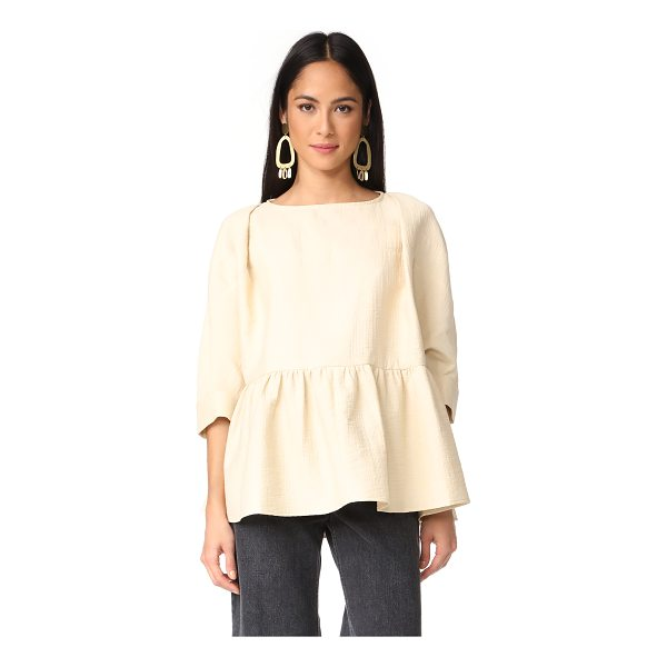 RACHEL COMEY reunion top - This voluminous Rachel Comey top is embellished with...