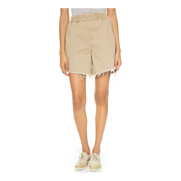 RACHEL COMEY Rogue shorts - Raw leg openings accentuate the casual look of these...