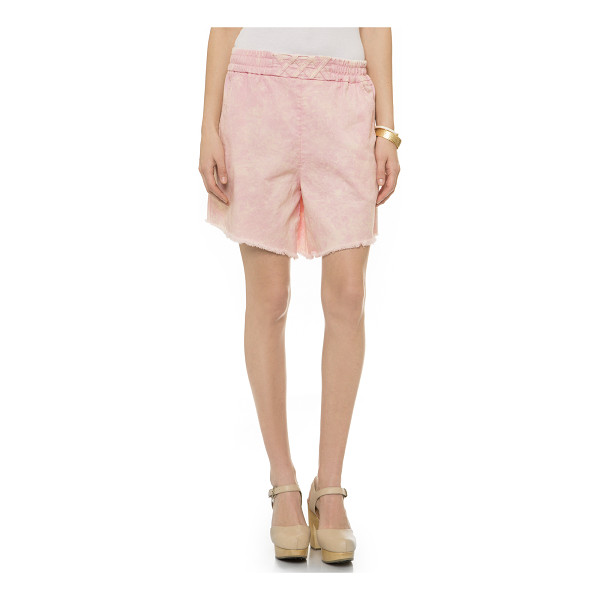 RACHEL COMEY Rogue shorts - Slouchy Rachel Comey shorts, styled with a speckled wash....
