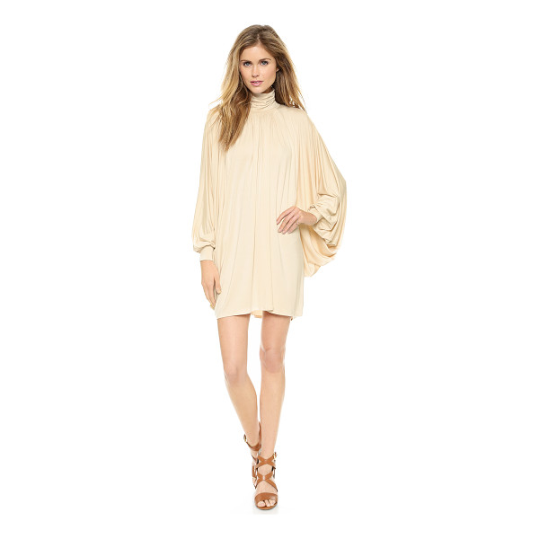 RACHEL PALLY Cass dress - Exaggerated batwing sleeves and a ruched turtleneck bring...