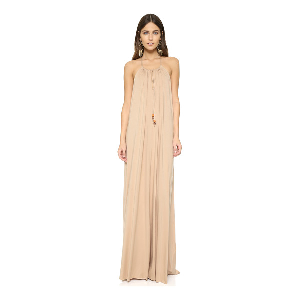 RACHEL PALLY Leia maxi dress - This flowing jersey Rachel Pally maxi dress has thin beaded...