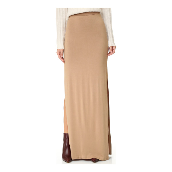 RACHEL PALLY pasadena skirt - A versatile Rachel Pally maxi skirt in soft jersey. Side...