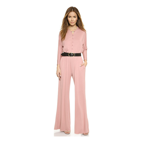 RACHEL PALLY Russo jumpsuit - Exclusive to Shopbop. Soft jersey composes this fluid, wide...