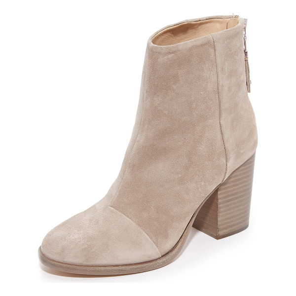 RAG & BONE ashby ankle booties - These classic Rag & Bone booties are made from soft suede....