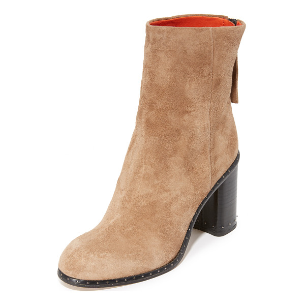 RAG & BONE blyth booties - A petite stud adds subtle edge to these suede Rag & Bone