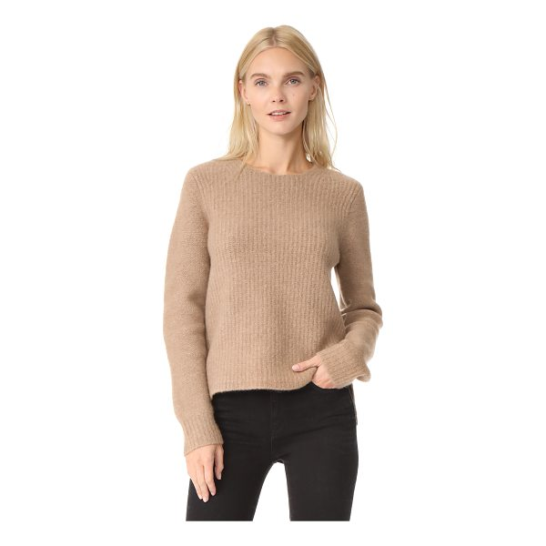 RAG & BONE francie sweater - This cozy, brushed wool Rag & Bone sweater has an uneven...
