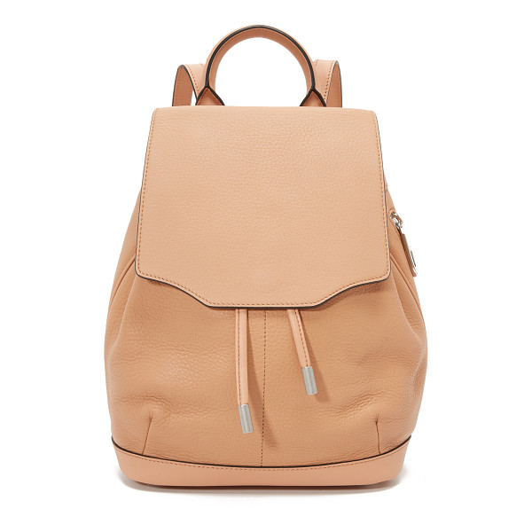 RAG & BONE Mini pilot backpack - A scaled down Rag & Bone backpack in pebbled leather.