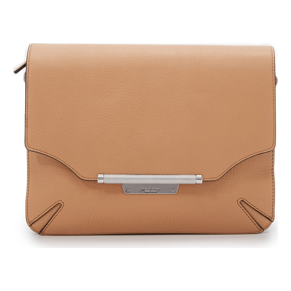 RAG & BONE Moto cross body bag - A sleek Rag & Bone cross body bag in tonal suede and