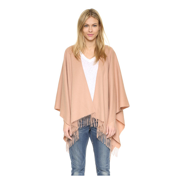 RAG & BONE Single face poncho - A brushed finish accentuates the cozy feel of this wool Rag...