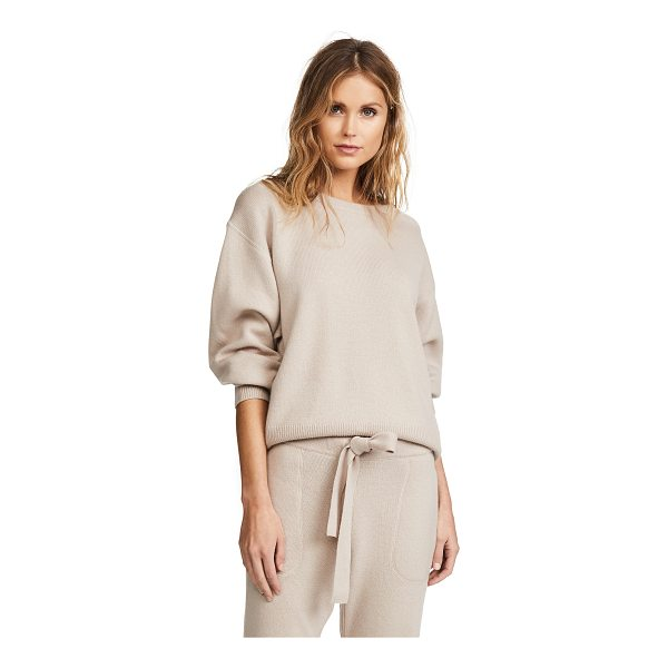 RAG & BONE sutton cashmere sweater - Fabric: Knit Solid-color design Pullover style Waist-length...