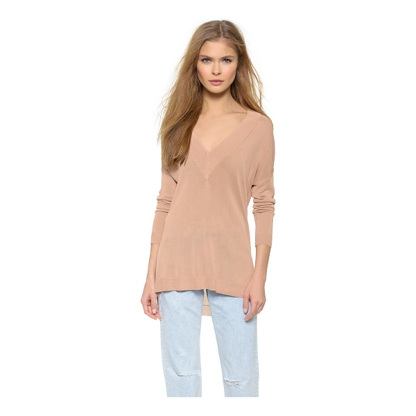 RAG & BONE Yvette v neck sweater - A Rag & Bone V neck sweater with a lightweight feel....