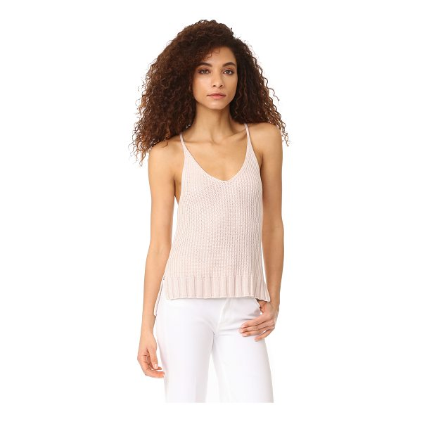 RAILS ava sweater - A ribbed-knit RAILS camisole, styled with a V neckline and...