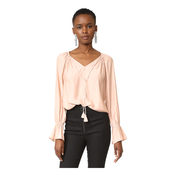 RAMY BROOK lanie blouse - A fluid, lightweight Ramy Brook blouse with a hint of...