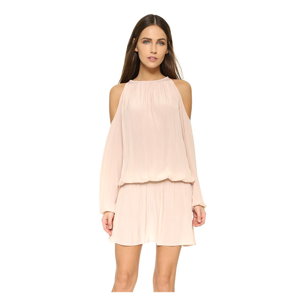 RAMY BROOK Lauren dress - Shoulder cutouts add a flirty touch to this fluid,...