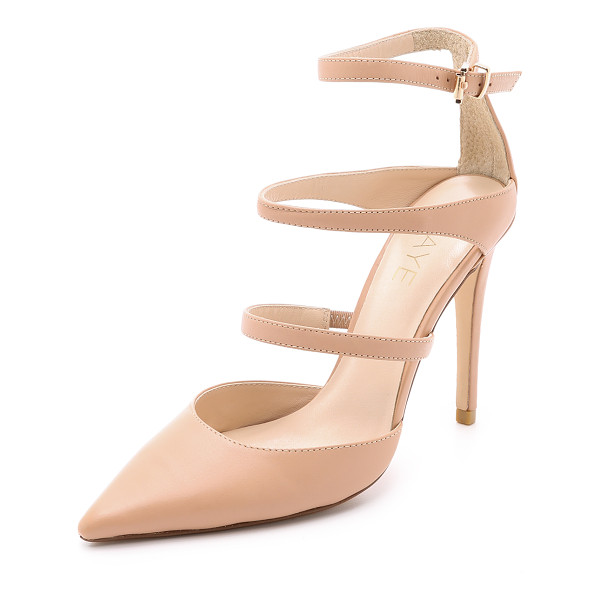RAYE Carrie strappy pumps - Slim straps and a pointed toe bring classic, feminine style...