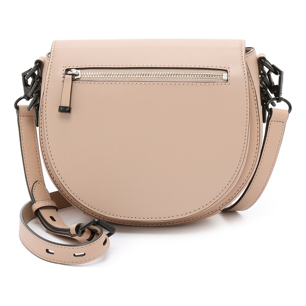 REBECCA MINKOFF Astor saddle bag - A leather Rebecca Minkoff bag in a classic saddle profile....