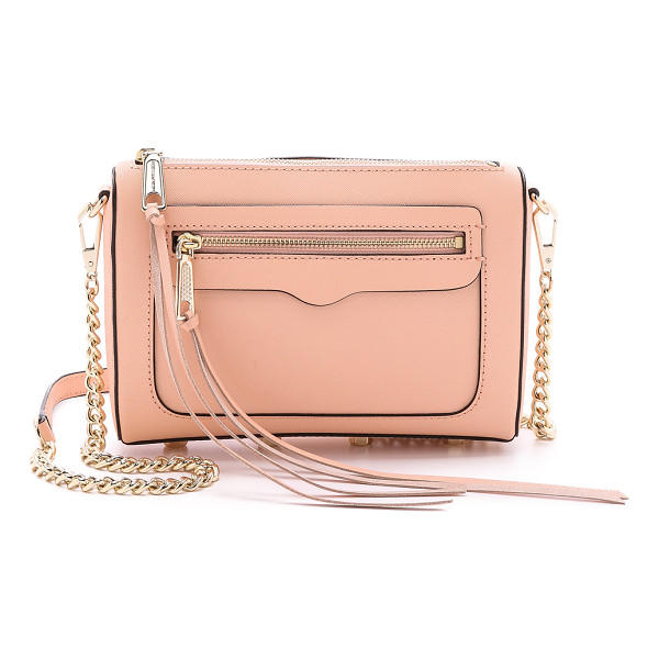 REBECCA MINKOFF Avery cross body bag - Saffiano leather constructs this chic Rebecca Minkoff bag.