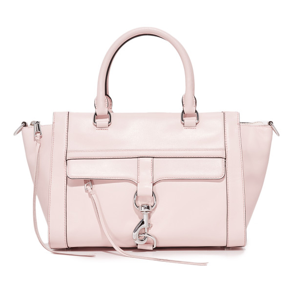 REBECCA MINKOFF bowery satchel - A roomy Rebecca Minkoff satchel with a polished spring lock