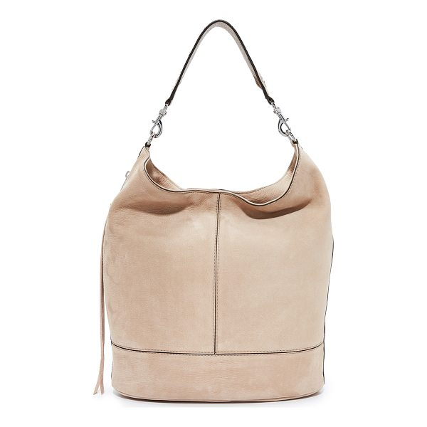 REBECCA MINKOFF bucket hobo bag - An understated Rebecca Minkoff hobo bag in soft nubuck. A