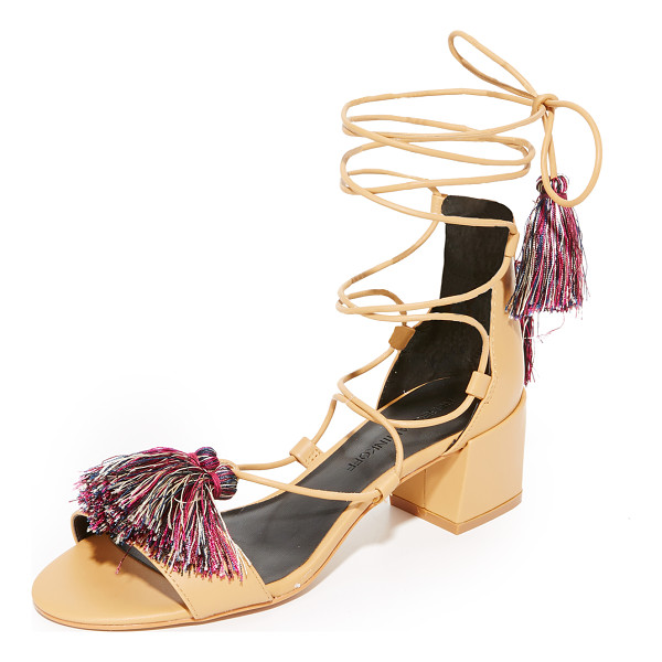 REBECCA MINKOFF isla city sandals - Smooth leather Rebecca Minkoff sandals styled with slim...