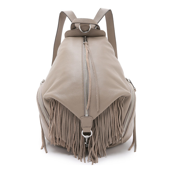 REBECCA MINKOFF Julian fringe backpack - A classic Rebecca Minkoff backpack, updated with playful