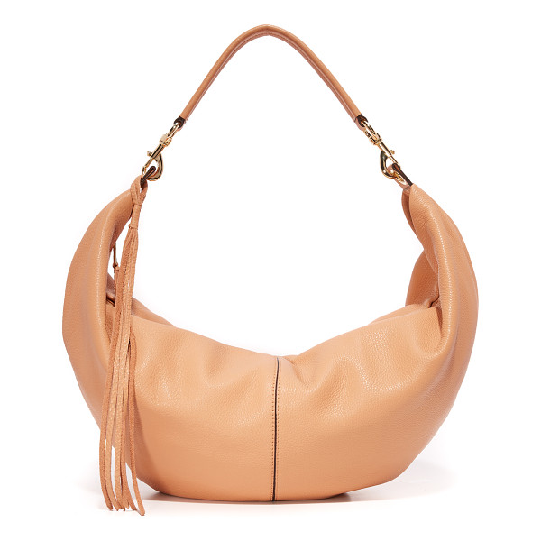 REBECCA MINKOFF Julian hobo bag - A spacious Rebecca Minkoff hobo bag made from pebbled