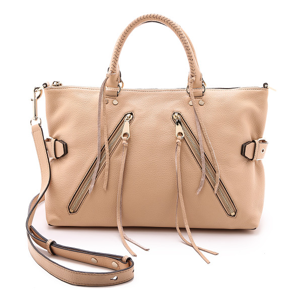 REBECCA MINKOFF Large moto satchel - A large Rebecca Minkoff satchel styled in soft, pebbled