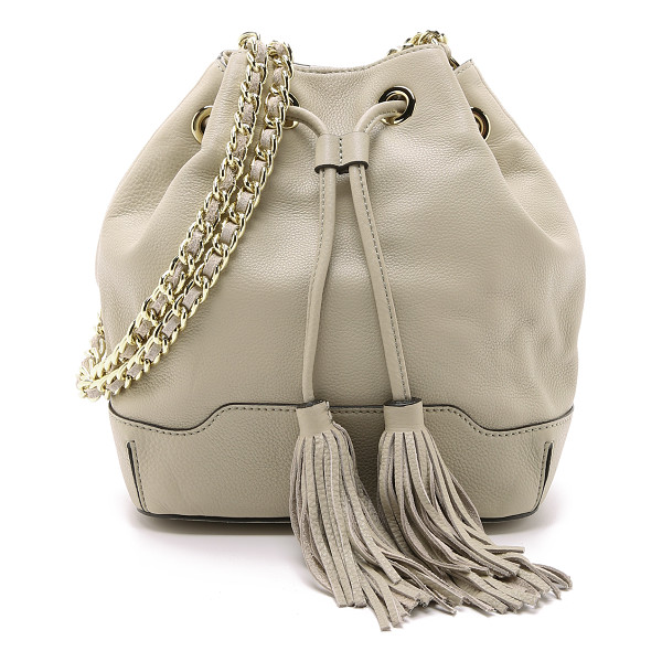REBECCA MINKOFF Lexi bucket bag - A charming Rebecca Minkoff bucket bag in supple pebbled...