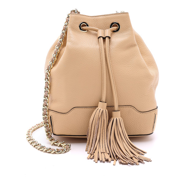 REBECCA MINKOFF Lexi bucket bag - A charming Rebecca Minkoff bucket bag, rendered in supple
