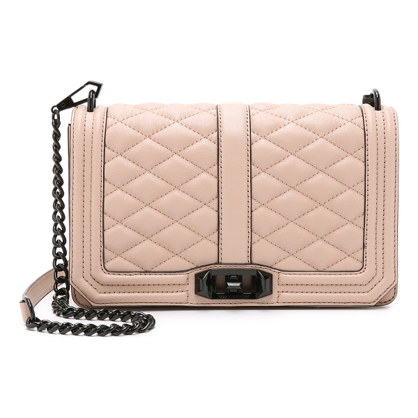 REBECCA MINKOFF Love cross body bag - A leather Rebecca Minkoff cross body bag with quilted...