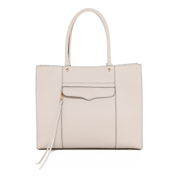 REBECCA MINKOFF Medium mab tote - Crisp saffiano leather lends this Rebecca Minkoff tote an