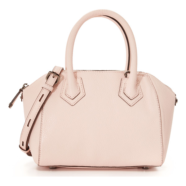 REBECCA MINKOFF Micro perry satchel - A Rebecca Minkoff satchel made from pebbled leather. 2