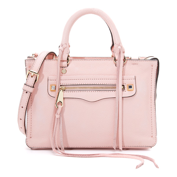 REBECCA MINKOFF Micro regan satchel - A scaled down Rebecca Minkoff satchel in soft, pebbled