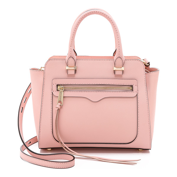 REBECCA MINKOFF Mini avery tote - Structured saffiano leather brings a sophisticated finish