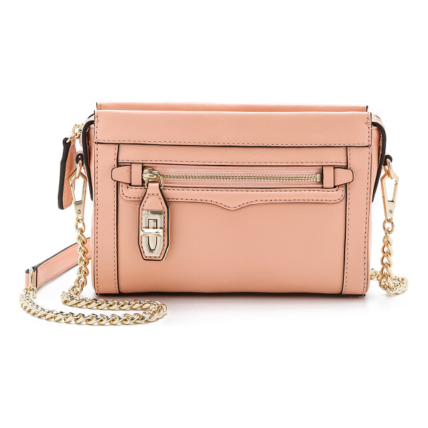REBECCA MINKOFF Mini crosby cross body bag - A slim Rebecca Minkoff cross body bag styled in rich...