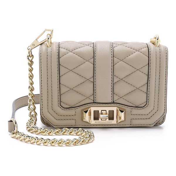 REBECCA MINKOFF Mini love cross body bag - A miniature Rebecca Minkoff cross body bag styled in