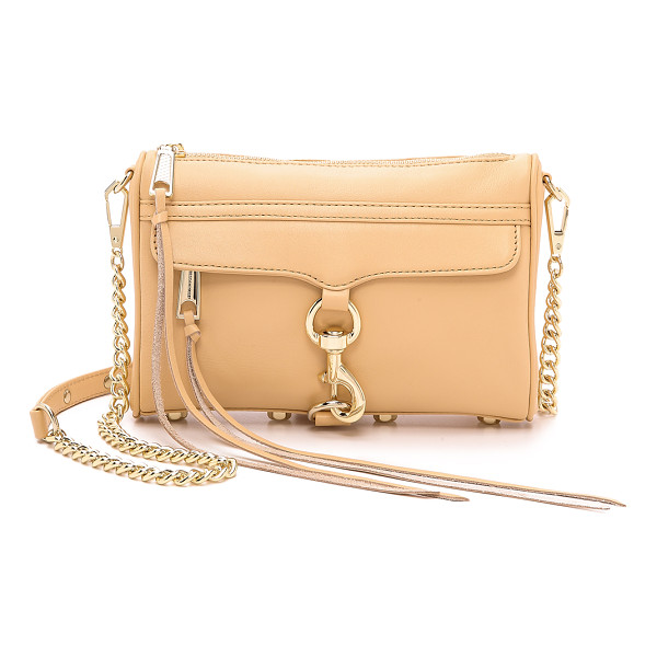 REBECCA MINKOFF Mini mac cross body bag - A Rebecca Minkoff classic, rendered in soft leather. This