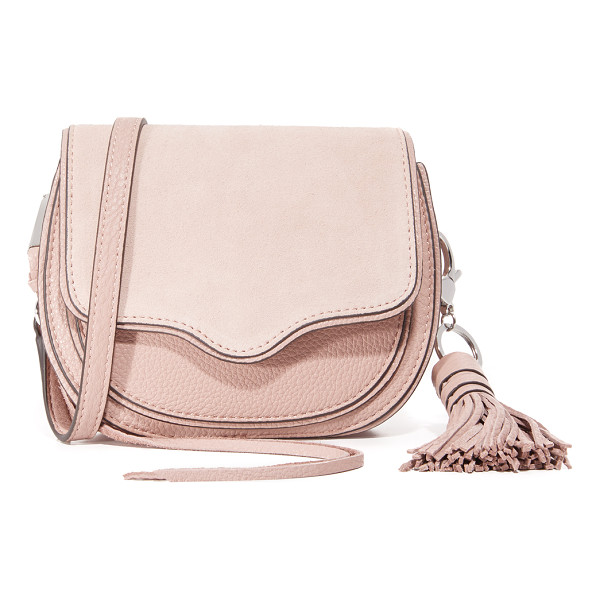 REBECCA MINKOFF Mini suki cross body bag - A sturdy Rebecca Minkoff saddle bag in a petite profile. A