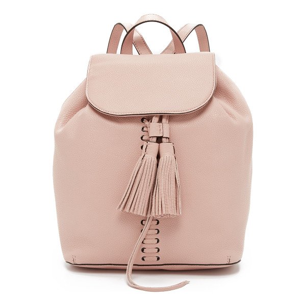 REBECCA MINKOFF Moto backpack - A slouchy Rebecca Minkoff backpack, rendered in pebbled...