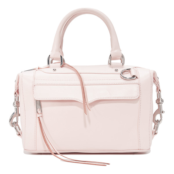REBECCA MINKOFF original mab satchel - A signature Rebecca Minkoff bag with polished spring locks