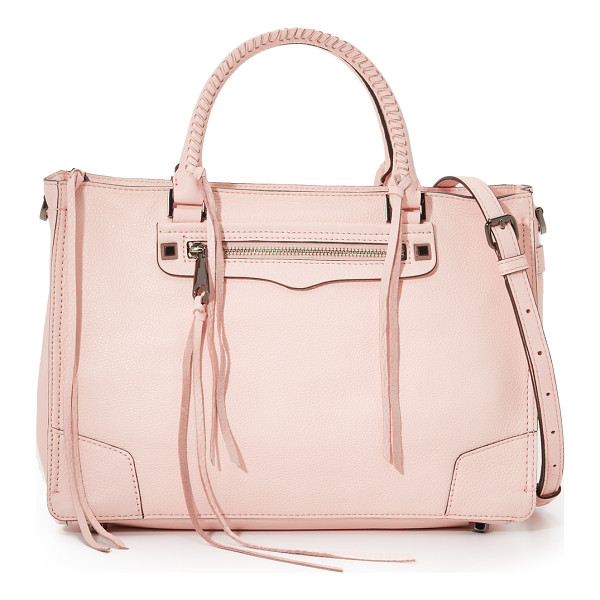 REBECCA MINKOFF Regan satchel - A large Rebecca Minkoff satchel in pebbled leather.